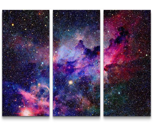 Weltraum Wars Galaxy Bild auf Leinwand // 2013 Raumschiffe